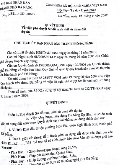 Danang Eregulations
