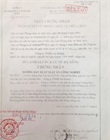 Authenticated copies of Certificate of fire prevention and fighting appraisal and approval