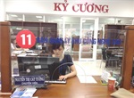 Counter 11 - Reception and release division - Ground floor - Danang Administration Centre