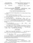 Authenticated copies of decision on land lease